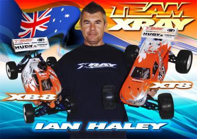 Ian Haley joins Team Xray