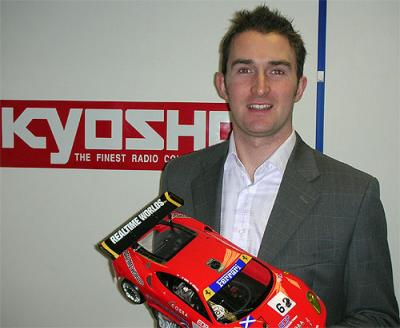 Karl Marsden joins Kyosho UK