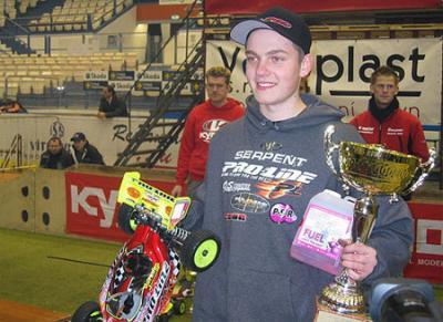 Joern Neumann wins Kyosho Masters