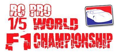 RC Pro 1/5 F1 World Championship
