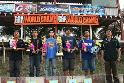 Charlee wins Thailand Buggy Party Rd1