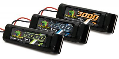 Venom 8.4v 7-Cell Flat Battery Packs
