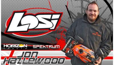Jon Hazlewood joins Team Losi