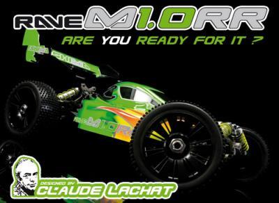 Ishima Racing Rave M1.0R buggy