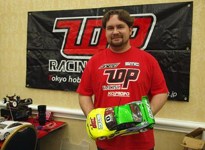 Josh Cyrul signs for T.O.P. Racing