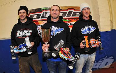 Cragg wins 2wd National Indoor Finals