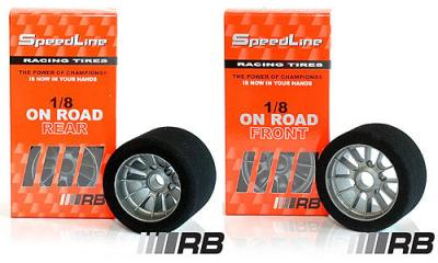RB SpeedLine On Road Tyres