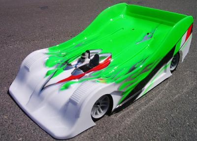 Xceed Zytec 1/8th Body shell