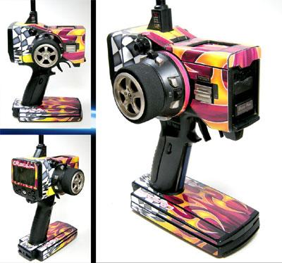 Craft RC Futaba 3PK Checker skin
