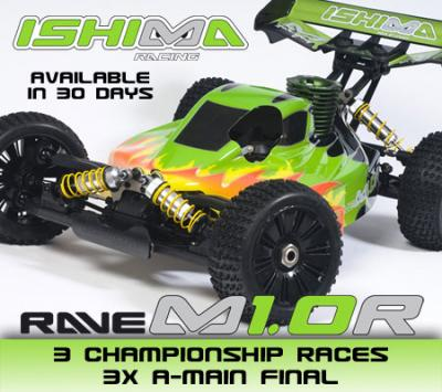 Ishima Racing Rave M1.0R buggy