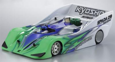 Kyosho Spada 09 RD-12EX body