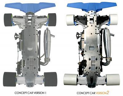 Team Magic R8 Concept Car V2