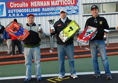 Recio wins Buenos Aires Metropolitan Champs