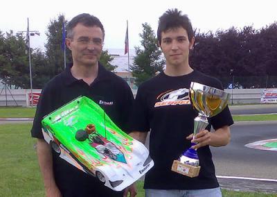 Andrea Cristiani wins Trofeo Novarossi