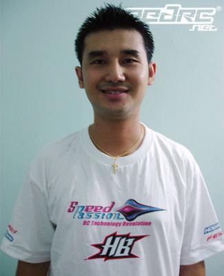 Surikarn Chaidajsuriya joins Speed Passion