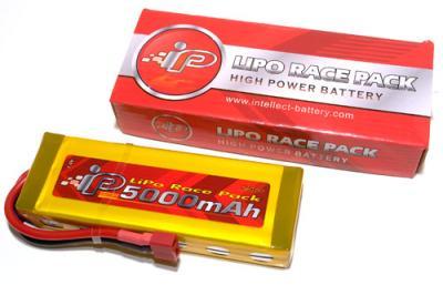 Intellect 5000MAh LiPo Race Pack