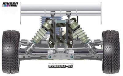 Mugen MBX6 CAD images
