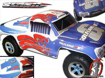Custom Body Wraps For Traxxas Slash