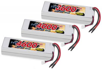 Carson 7.4V 20C LiPo packs