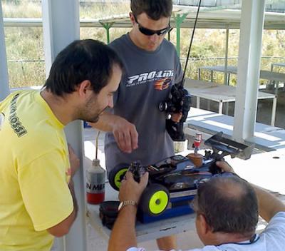 Borja Hernandez tests the Hyper 9