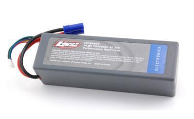Losi 14.8V 5000mAh 25C LiPo pack