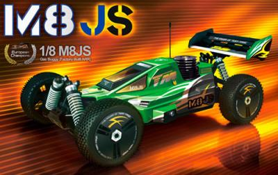 Team Magic M8JS 1/8th scale buggy