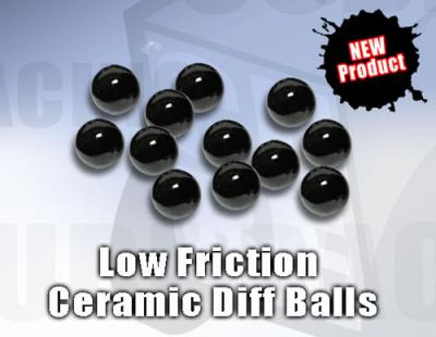 Cube Racing Low Friction Ceramic Balls