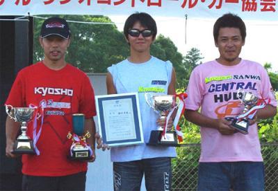 Keisuke Fukuda wins Japanese 10th Nats