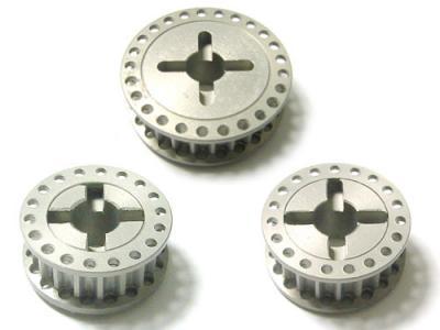 KM Racing NT1 Aluminium pulleys