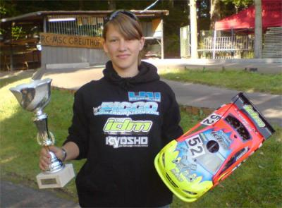 Sabrina Lechner wins South German title