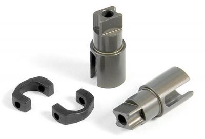 Xray T2′008 Alu Solid Axle Adapters