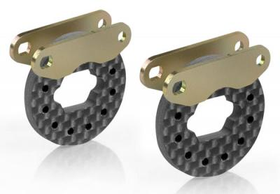 Xray Graphite ventilated brake disks