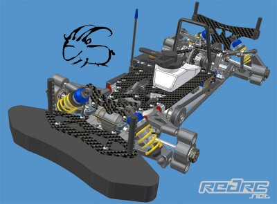 Capricorn RC 1/10th 200mm chassis