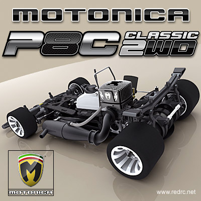 Motonica P8C Classic 2wd chassis