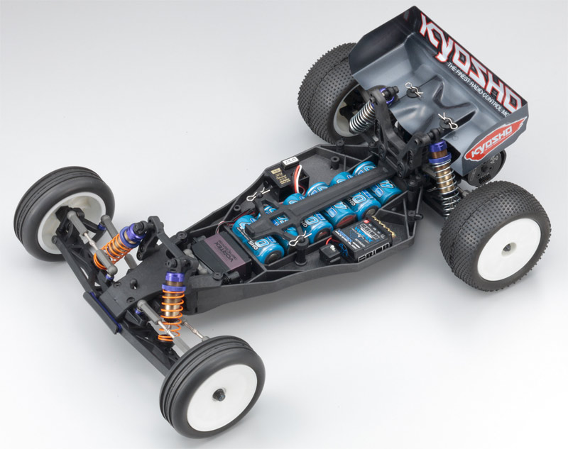 Модель 1/10 EP 2WD KIT...  Комплект для сборки спортивной заднеприводной модели багги Kyosho Ultima RB5 SP.