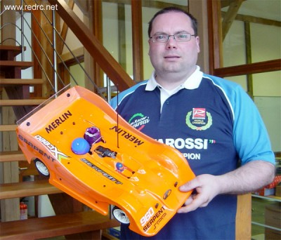 Mark Green switches to Novarossi engines