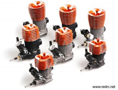 Mega 2009 Engine line-up