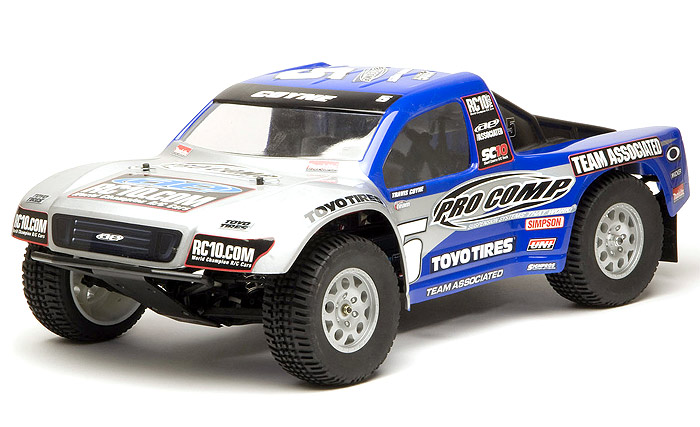 Team Associated Sc Painted Body