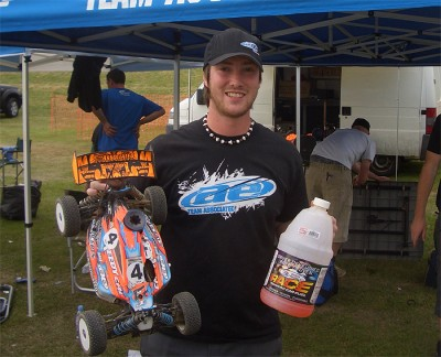 Lee Martin wins BRCA 1/8th Off-Road Rd3