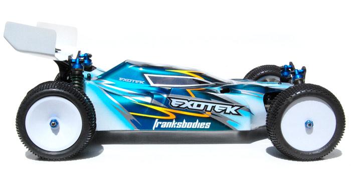 Exotek Racing Mako 44 Body Shell Red Rc Rc Car News