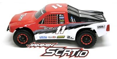 Jammin SCRT-10 4wd Short Course truck