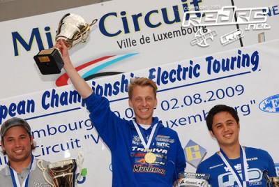 Groskamp is European Champion