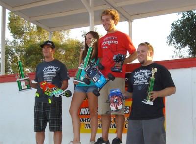 Jared Tebo sweeps 2009 Reedy Truck race