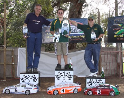 Barend Myburgh is 1/5th scale World Champion