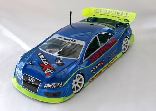 red rc rc car news audi a5 200mm from shepherd. Black Bedroom Furniture Sets. Home Design Ideas