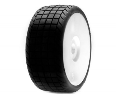 Losi Dlm2 Rubber Dirt Oval Racing Tires Red Rc