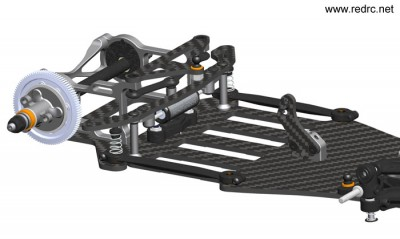 Serpent S120 Link 1/12th scale chassis