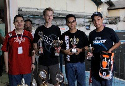 Jilles Groskamp dominates in Indonesia