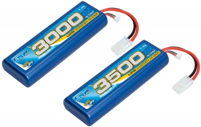 LRP 3500mAh & 3000mAh 25C LiPo Power packs