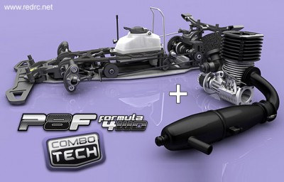 Motonica P8F 4WD Suspension-free chassis